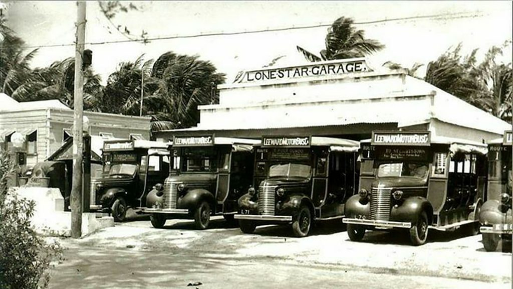 Lone Star Hotel Barbados - Old image from the 1940s