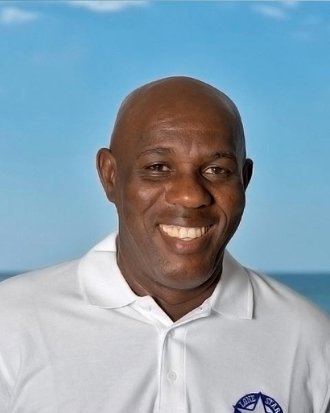 Roy Cumberbatch Restaurant Manager at the luxury Lone Star Hotel Barbados