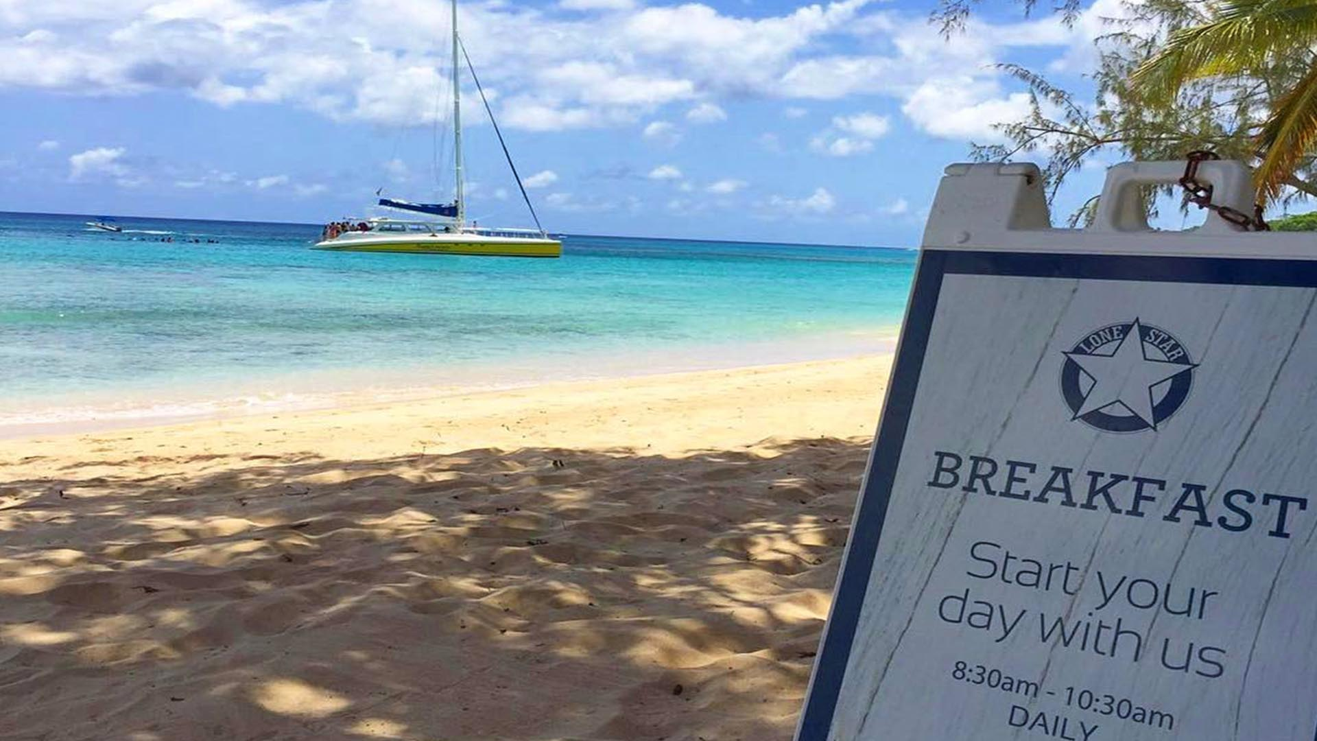 The best restaurants in Barbados the Lone Star Hotel Breakfast
