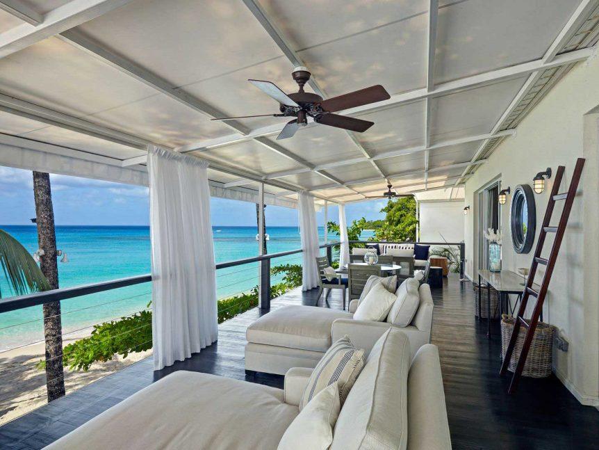 Lone Star Hotel Barbados Cadillac terrace
