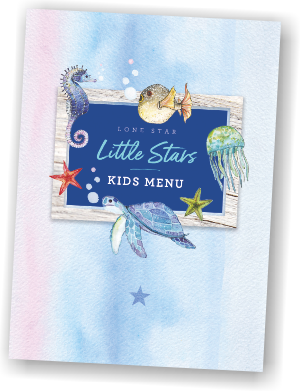 Little Stars Kids Menu The Lone Star Restaurant Barbados