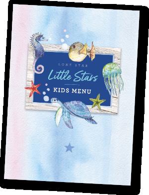 Little Stars Kids Menu The Lone Star Restaurant Barbados