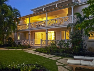 Lincoln One - Two Bedroom Penthouse at the luxury Lone Star Hotel Barbados at night