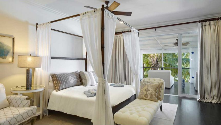 Luxury hotels in Barbados Lone Star Hotel Cadillac bedroom