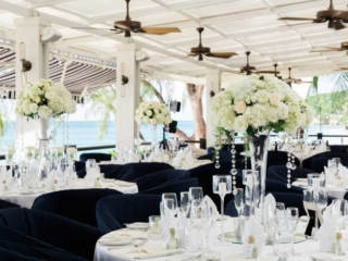 Luxury hotels in Barbados Wedding and honeymoon venues Lone Star Hotel Table Setting