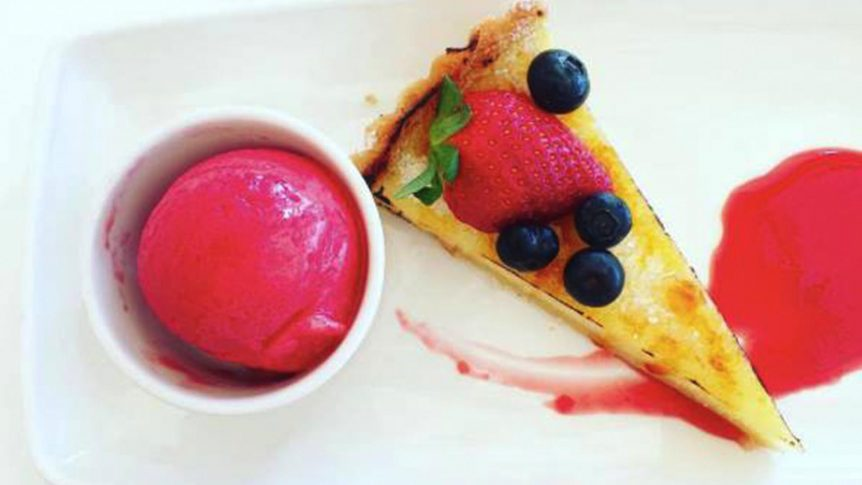 The best restaurants in Barbados the Lone Star Hotel Dessert