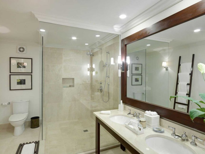 Lone Star Hotel Barbados Buick ocean front luxury bathroom