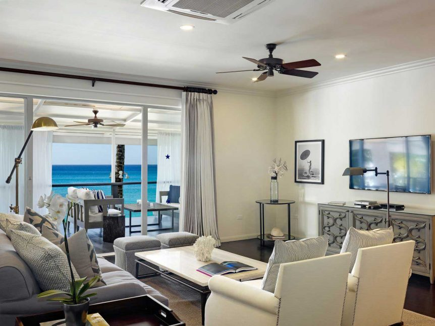 Lone Star Hotel Barbados Cadillac sitting room