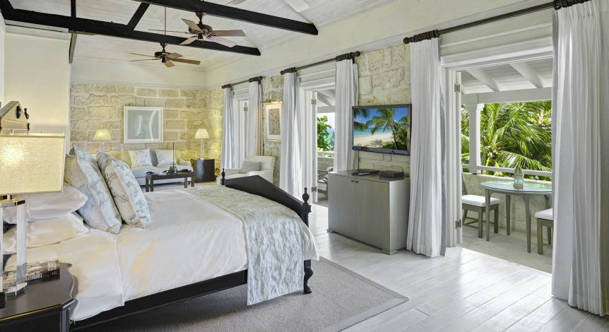 lone star Hotel Barbados lone star villa - master bedroom