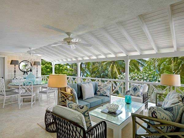 Lone Star Hotel Barbados Beach House villa terrace