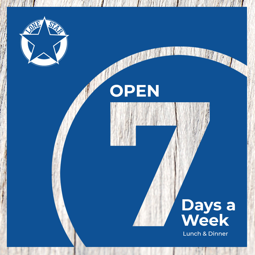 LONE STAR OPEN SEVEN DAYS-2021